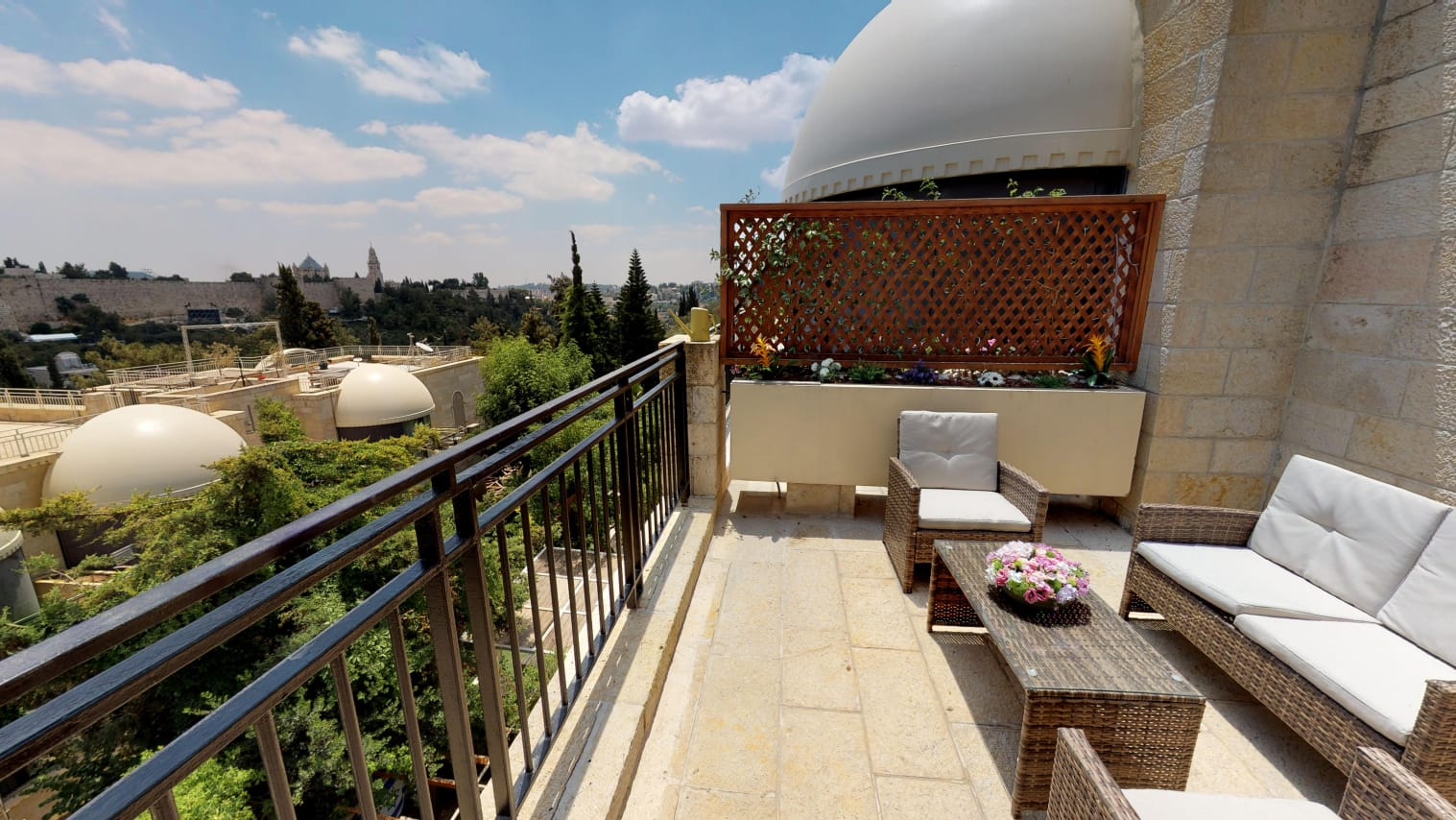 3.Old City views Luxury Mamilla 3 BR image 2