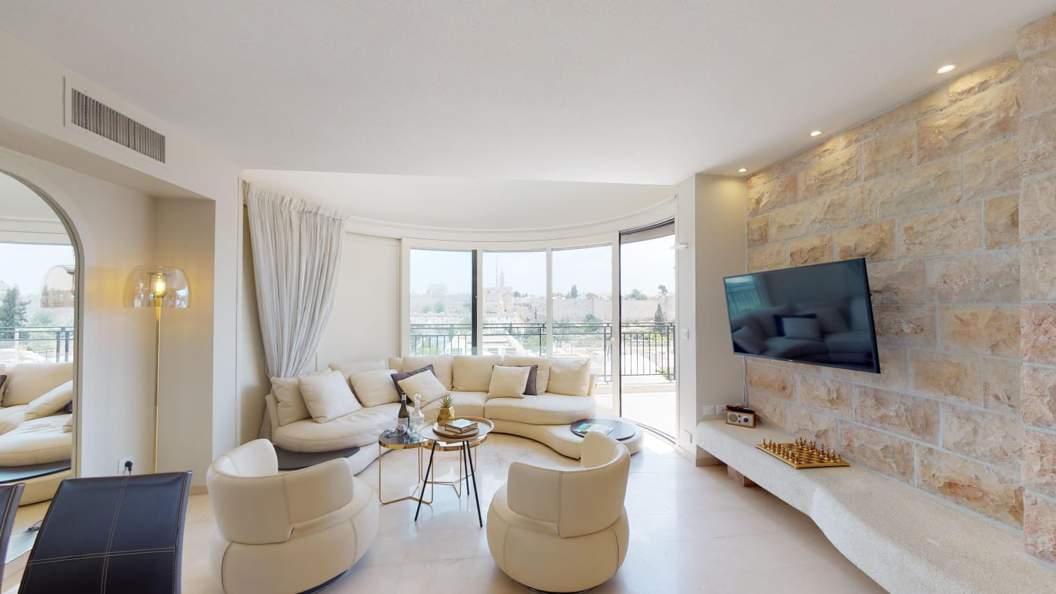 3.Old City views Luxury Mamilla 3 BR image #13