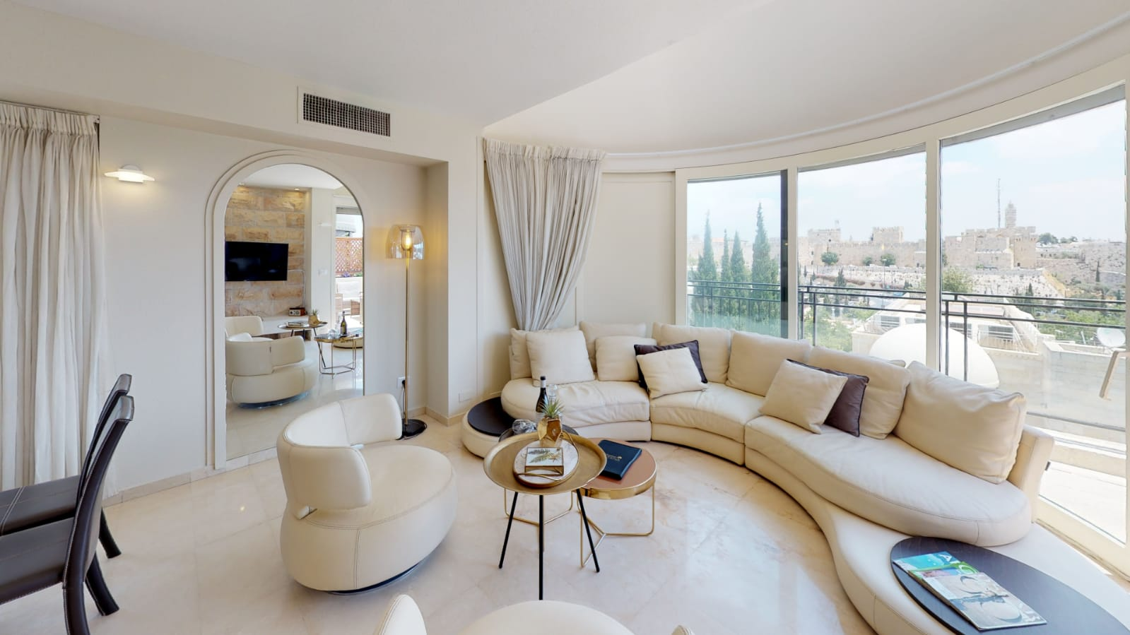 3.Old City views Luxury Mamilla 3 BR image #15